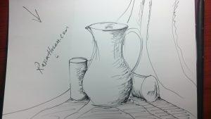 Temel Çizim Dersleri & Nesne Çizimleri