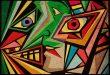 Kübizm Nedir, Pablo Picasso,Georges Braque, Kübist çalışma