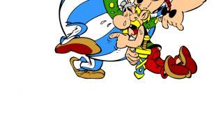 Oburiks ve Asteriks Boyama Sayfası